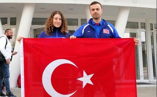 Antalyasporlu Ecenur Ceylan Milli Takım'da...