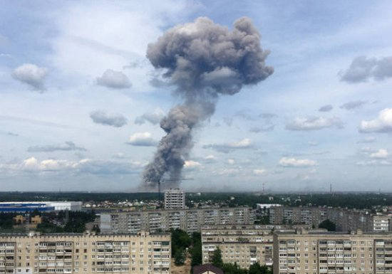 Апрельский инцидент: Директор взорвавшегося вДзержинске завода...