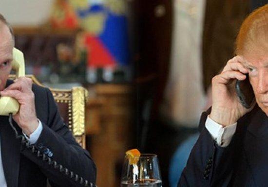 Путин иТрамп провели телефонные переговоры...