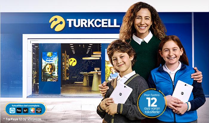 Son Teknoloji İhtiyaçlarınız Peşin Fiyatına 12 Taksitle Turkcell'de